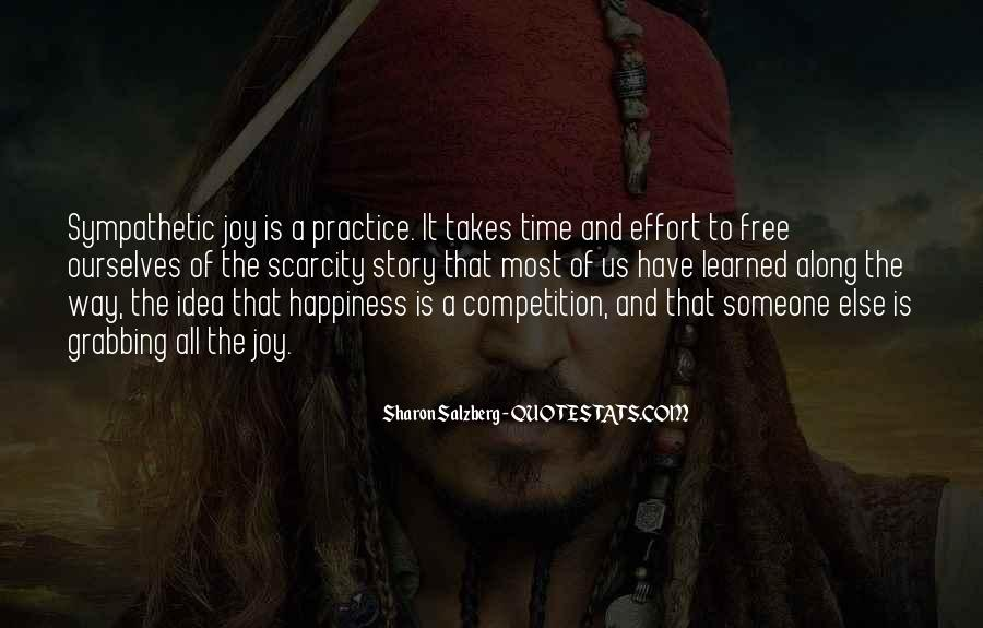 Time And Effort Love Quotes #68779