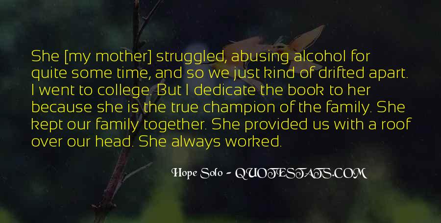 Time Apart Family Quotes #1556833