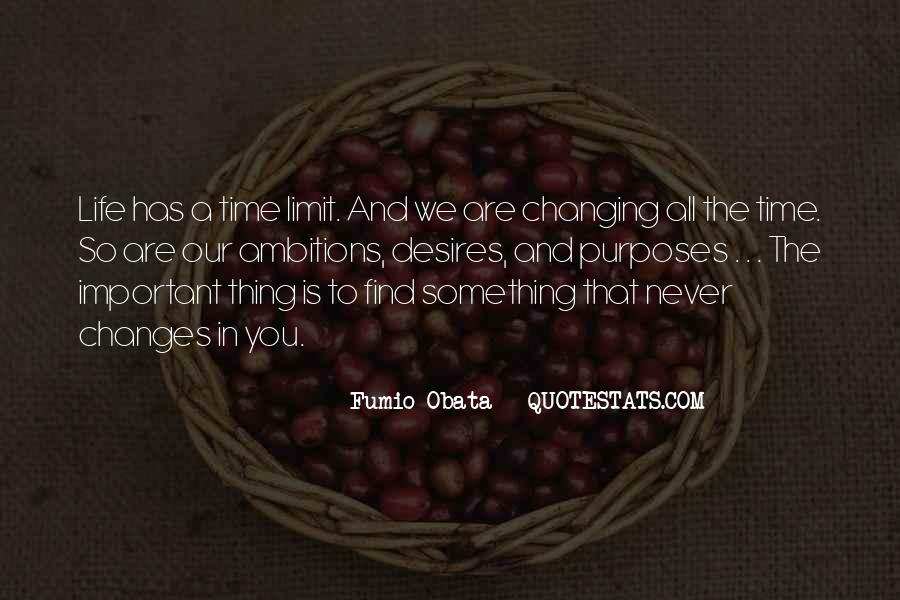 Time Changes All Quotes #542701