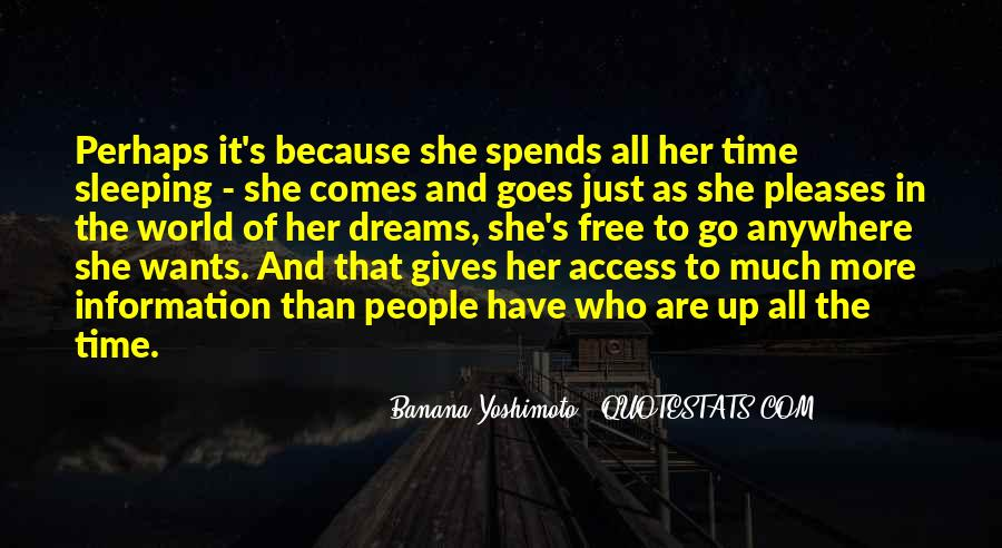 Time Comes Quotes #113761
