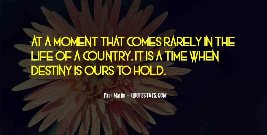 Time Comes Quotes #24759