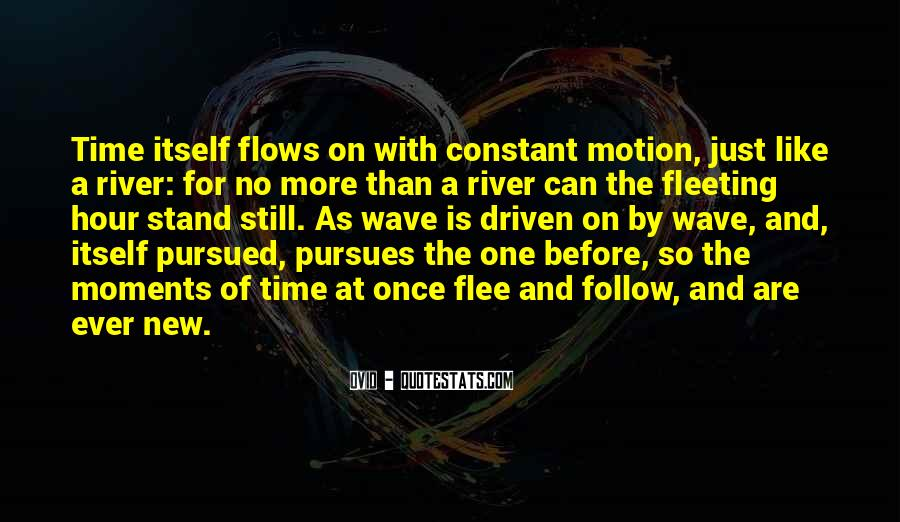 Time Flows Quotes #1026358