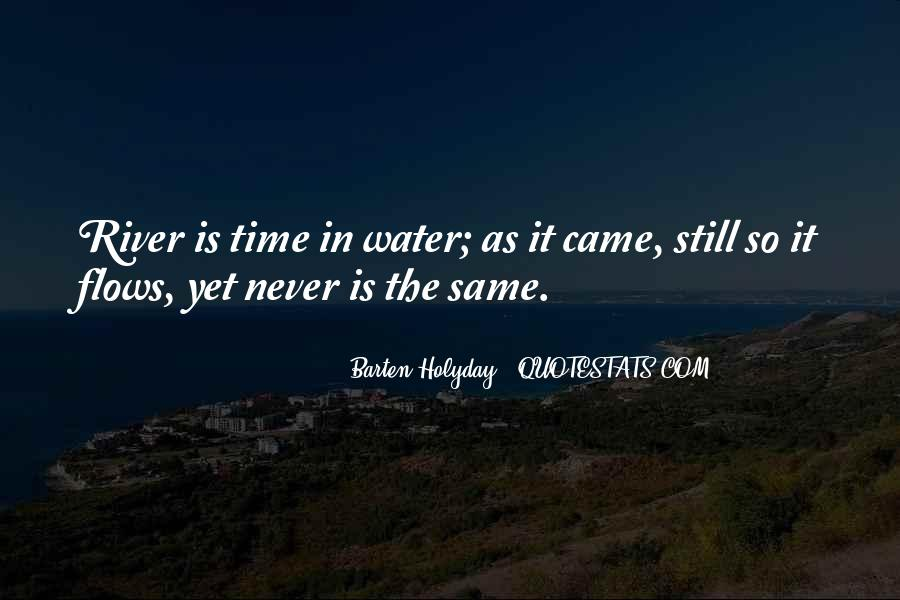 Time Flows Quotes #155775