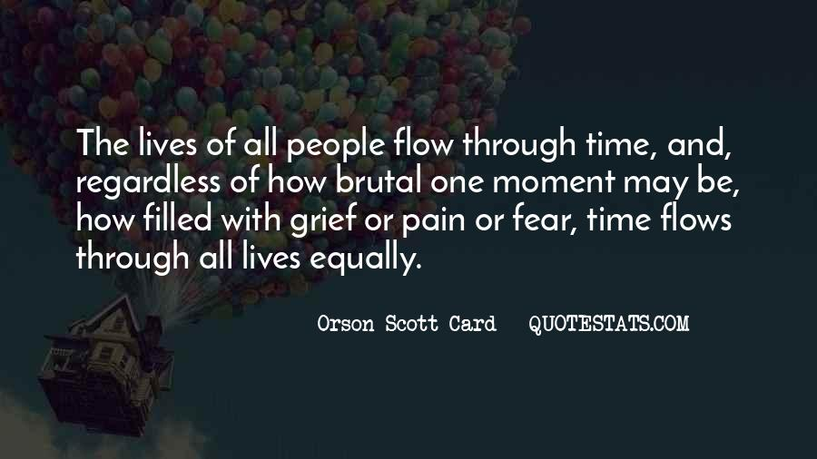 Time Flows Quotes #250909
