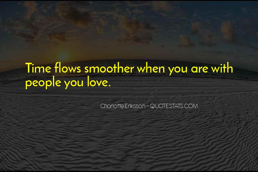Time Flows Quotes #286920