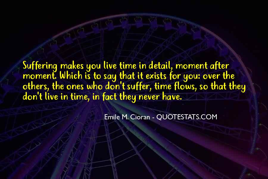Time Flows Quotes #475796