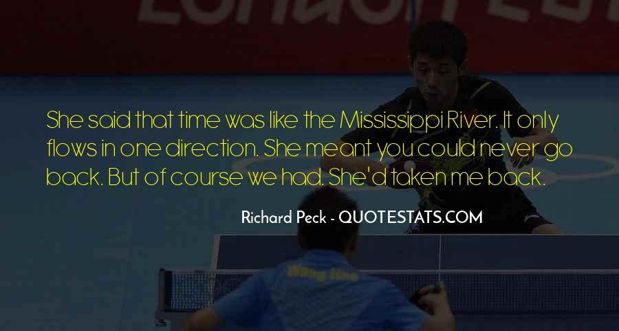 Time Flows Quotes #598220