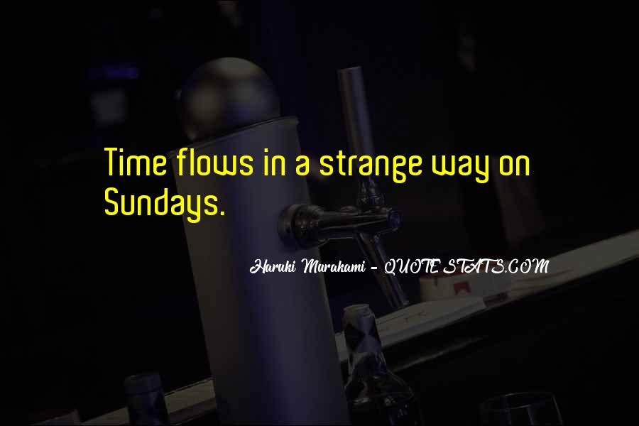 Time Flows Quotes #680020