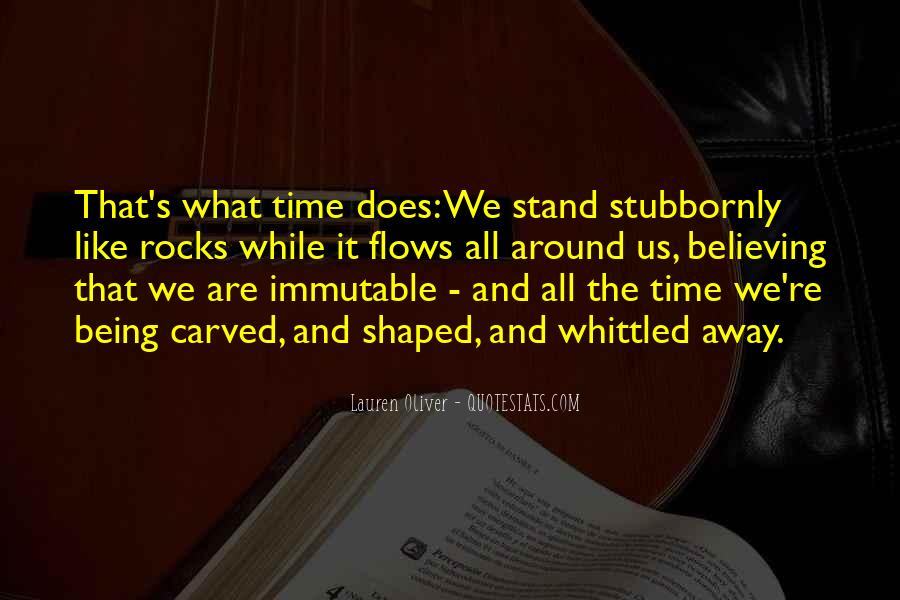 Time Flows Quotes #753718