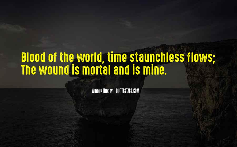 Time Flows Quotes #806024