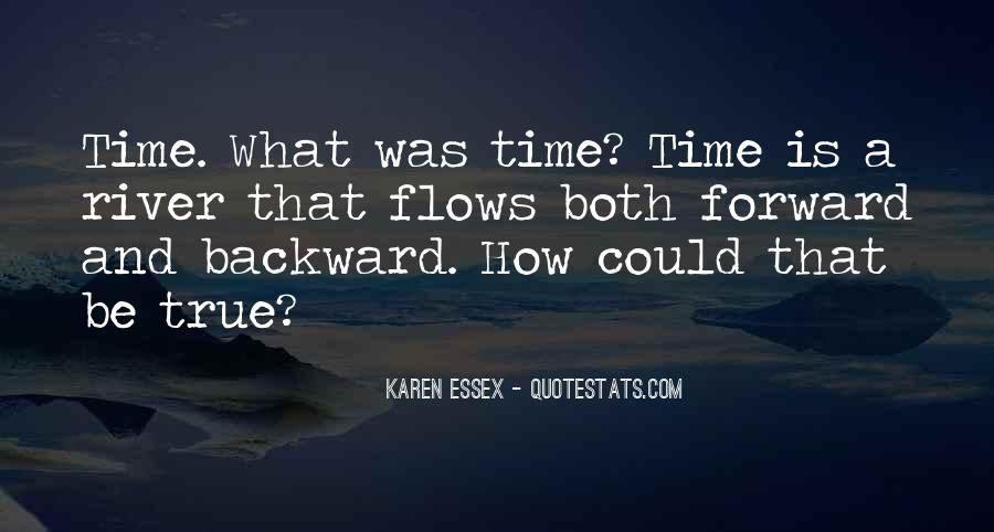Time Flows Quotes #863447