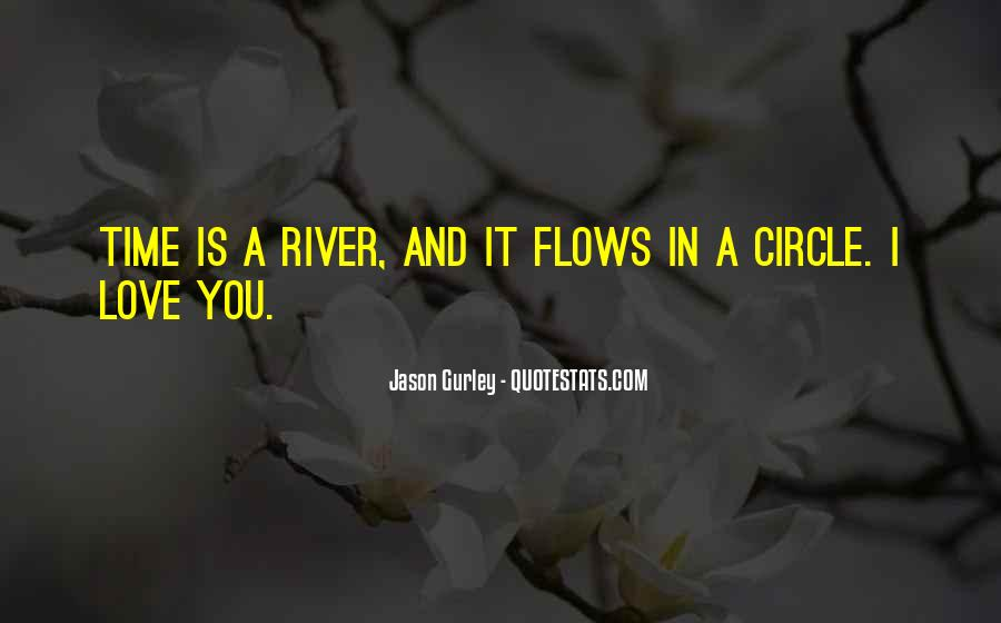Time Flows Quotes #968296