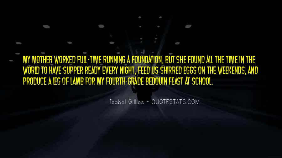 Time In School Quotes #111111
