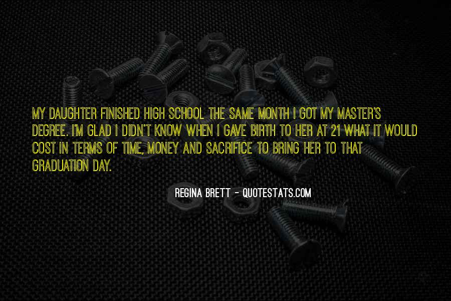 Time In School Quotes #149105