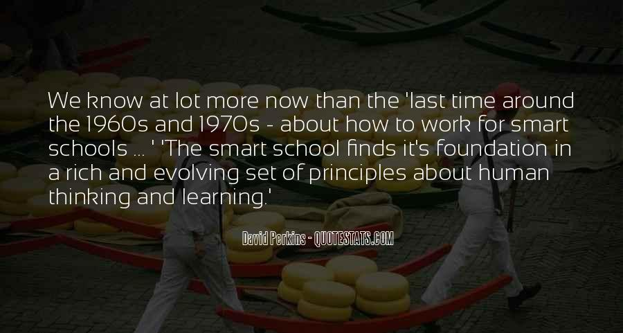 Time In School Quotes #160224