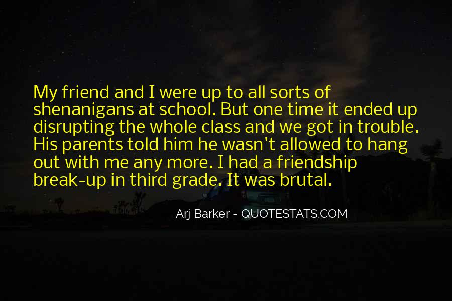 Time In School Quotes #26677