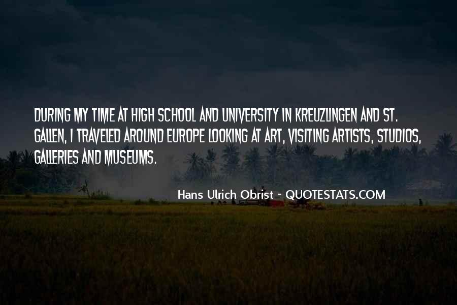 Time In School Quotes #311884