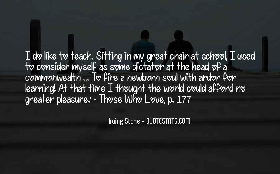 Time In School Quotes #51408