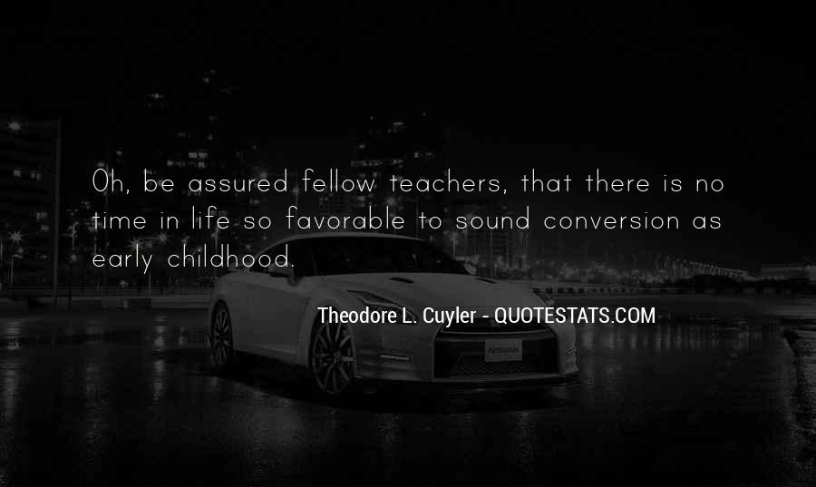 Time In School Quotes #94558