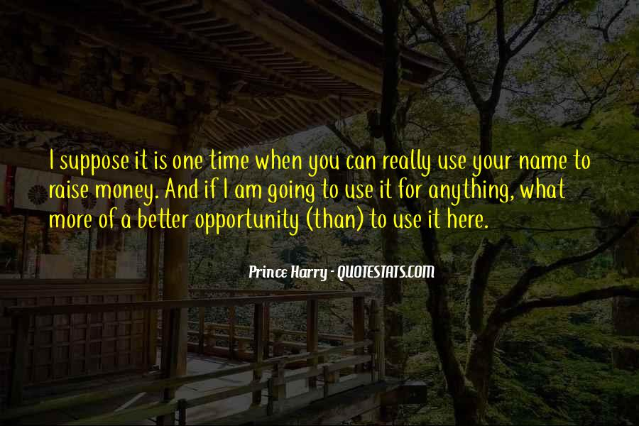 Time Is Better Than Money Quotes #1415215