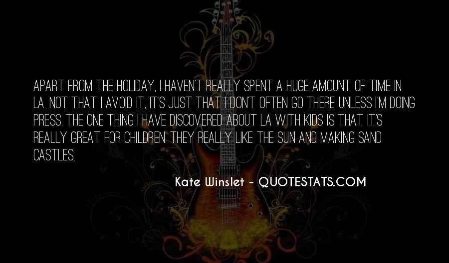 Time Is Great Quotes #25081