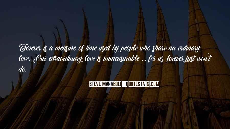 Time Is Not A Measure Of Love Quotes #1639427