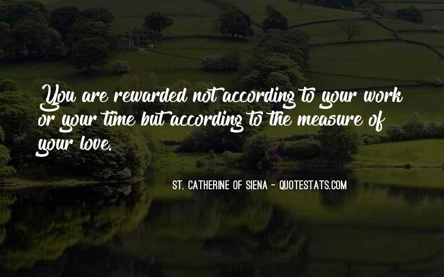 Time Is Not A Measure Of Love Quotes #168001