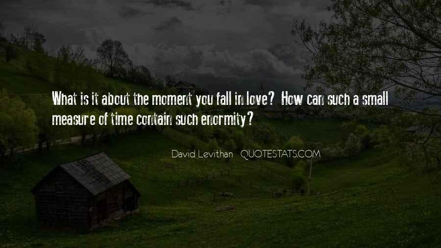 Time Is Not A Measure Of Love Quotes #1847679