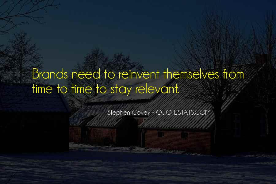 Time Is Relevant Quotes #1547955