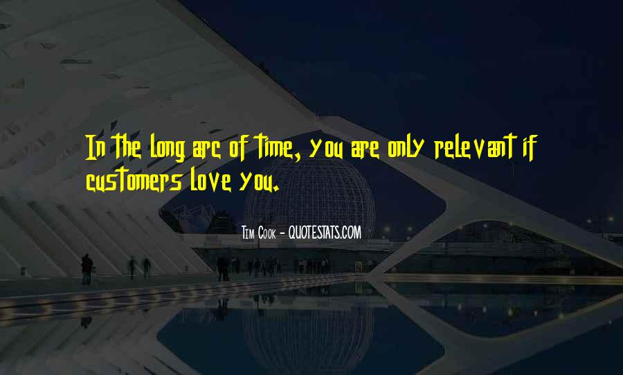 Time Is Relevant Quotes #1687745
