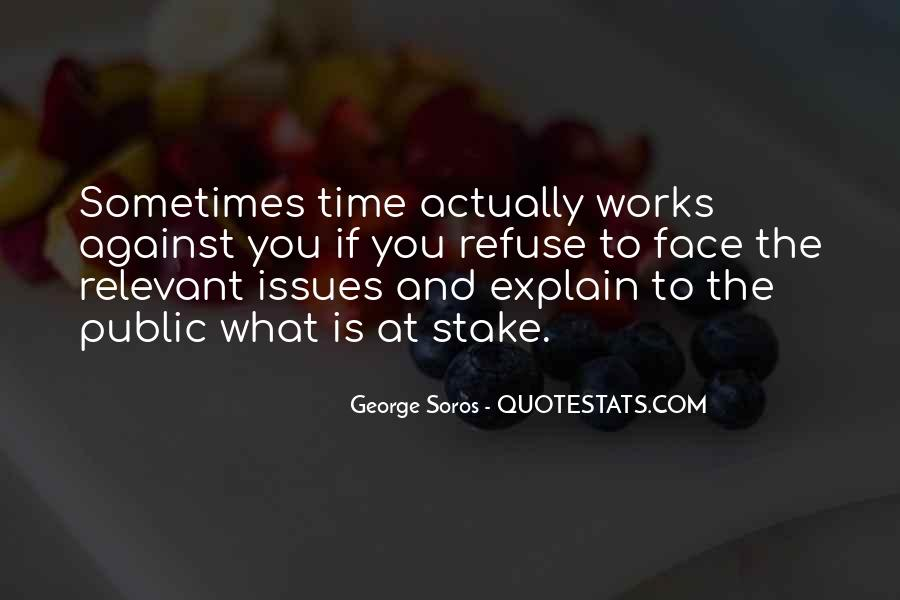 Time Is Relevant Quotes #863832