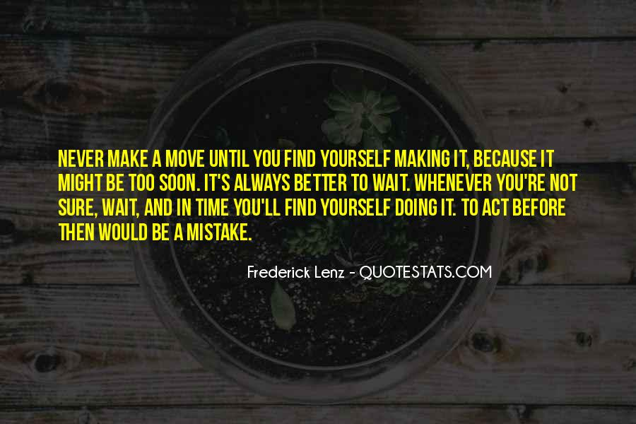 Time Not Moving Quotes #1573312