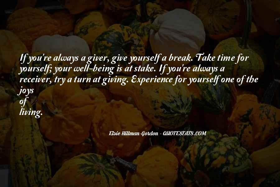 Time Of Giving Quotes #263200