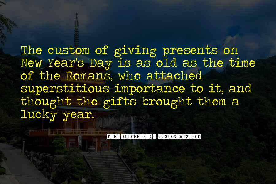 Time Of Giving Quotes #5145