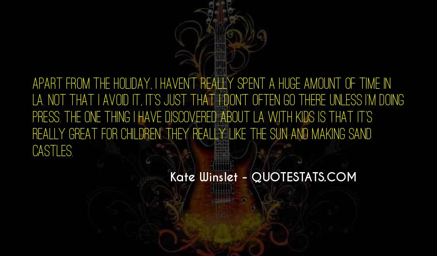 Time Spent With U Quotes #25081