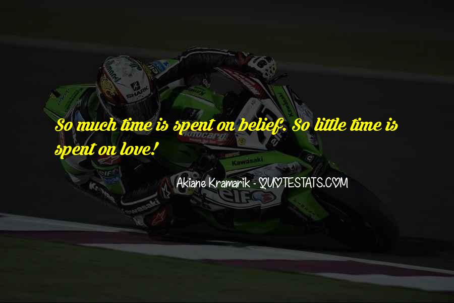 Time Spent With U Quotes #4773