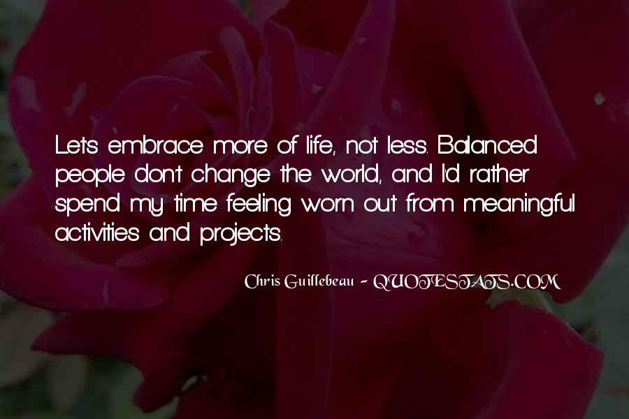 Time To Change Myself Quotes #13345