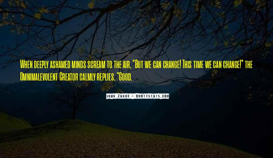 Time To Change Myself Quotes #30198