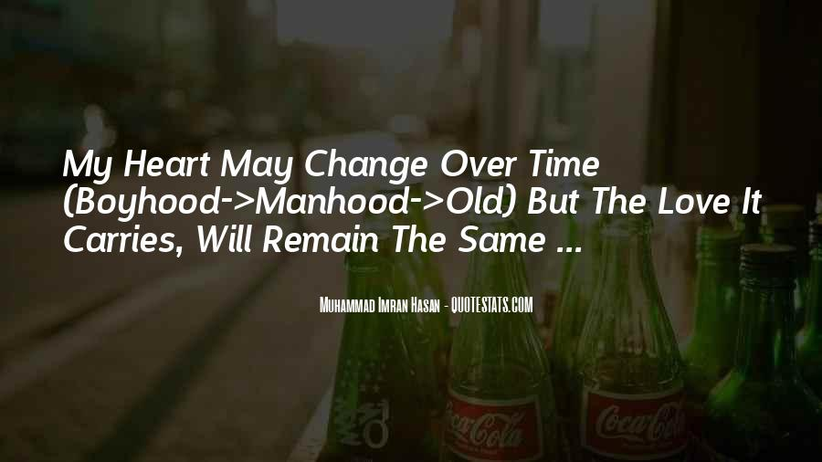Time To Change Myself Quotes #32805