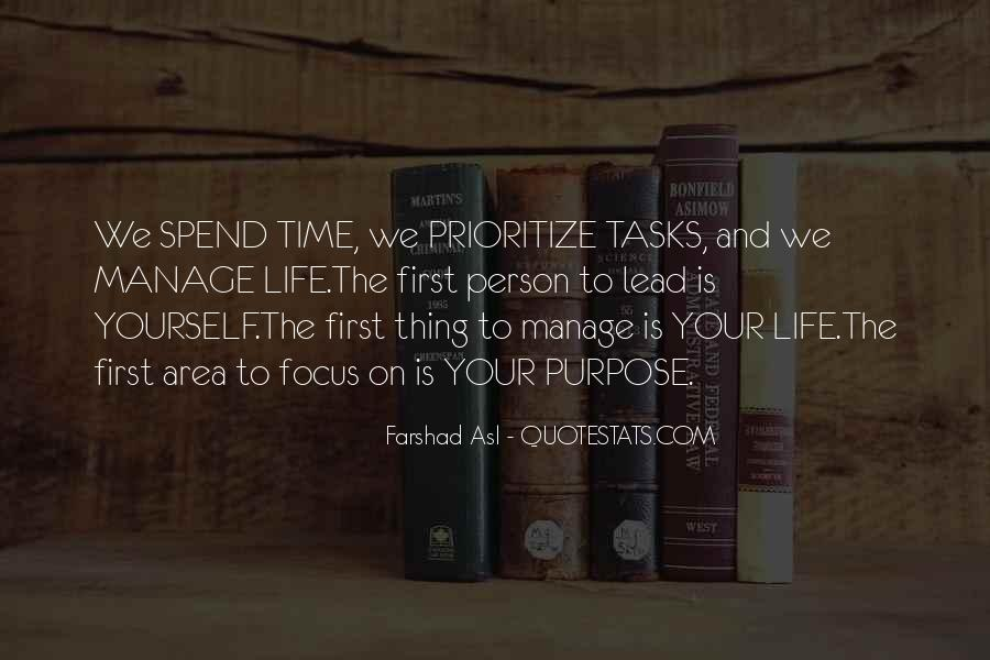 Time To Focus On Yourself Quotes #1526270