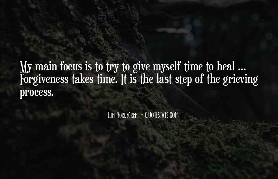 Time To Focus On Yourself Quotes #84448