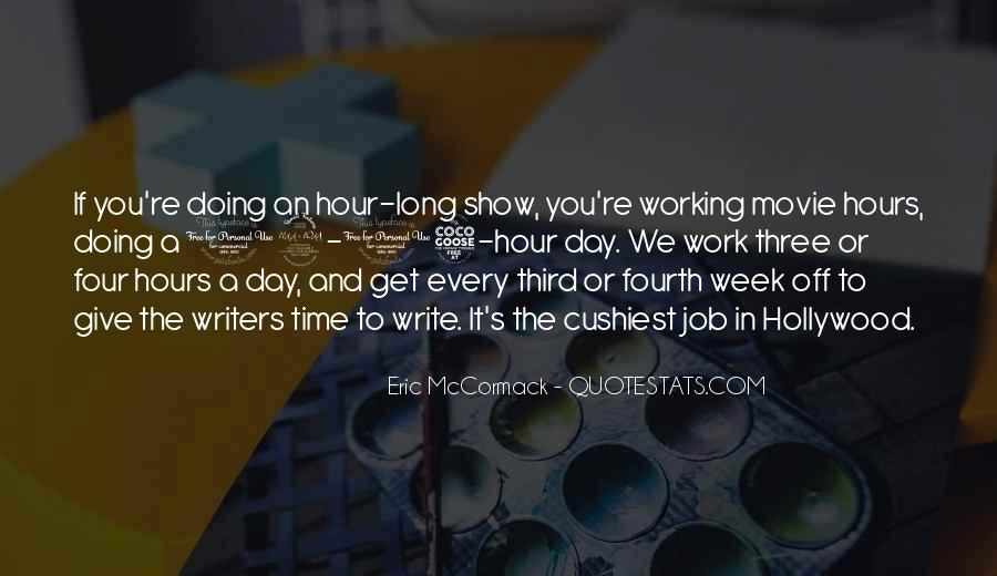 Time To Get Off Work Quotes #1211460