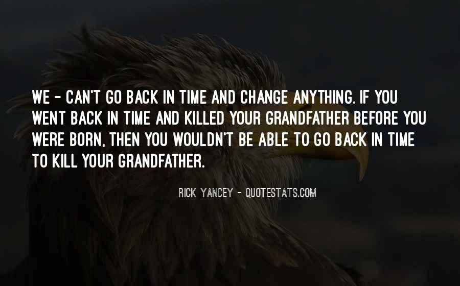 Time To Go Quotes #15657
