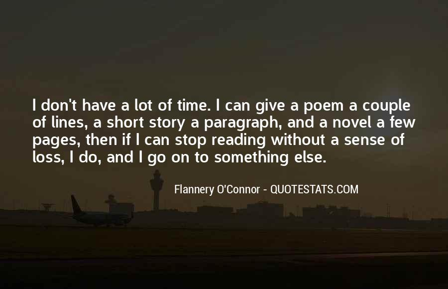 Time To Go Quotes #24167
