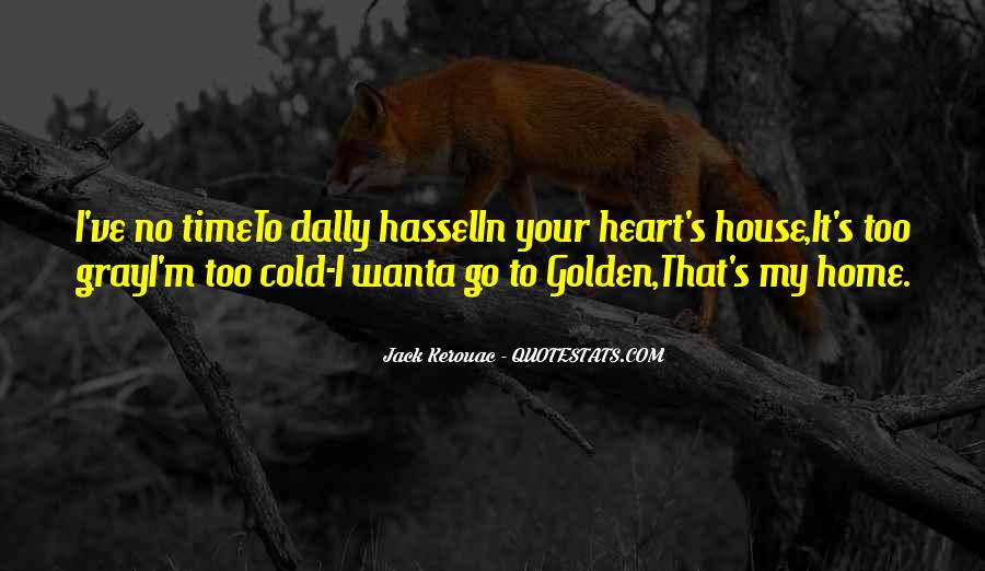 Time To Go Quotes #32698