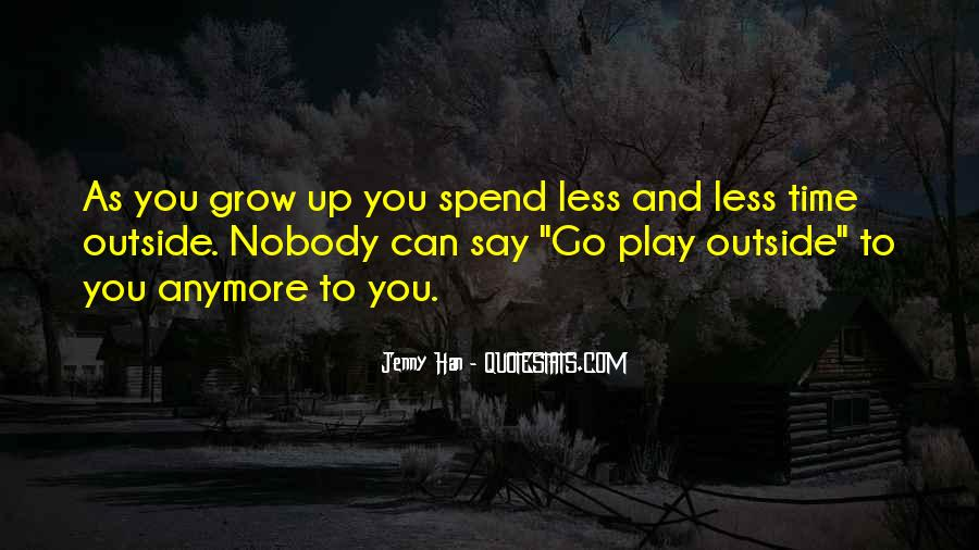 Time To Go Quotes #34980