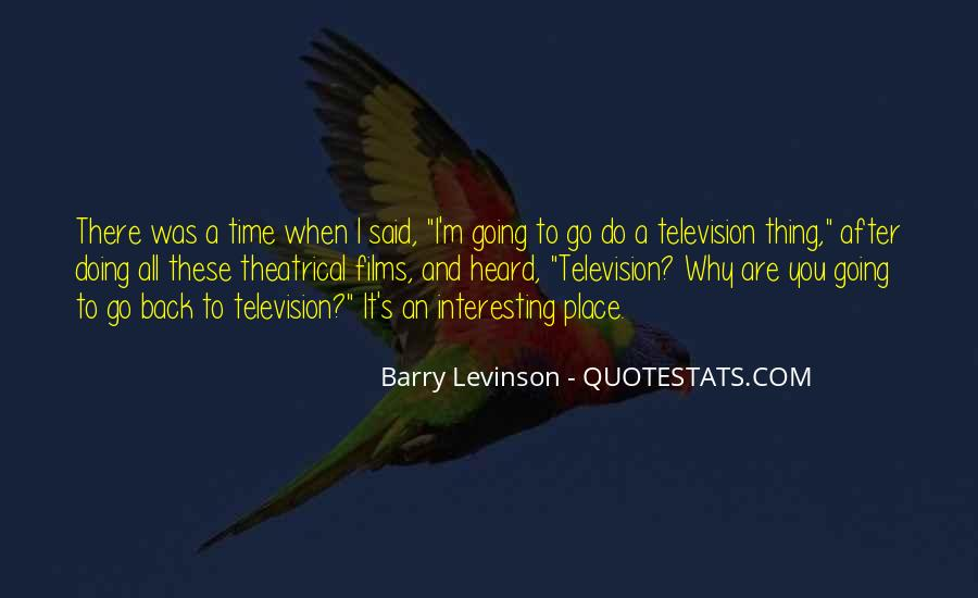 Time To Go Quotes #39156