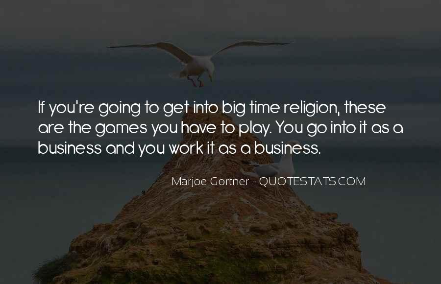 Time To Go Quotes #49119