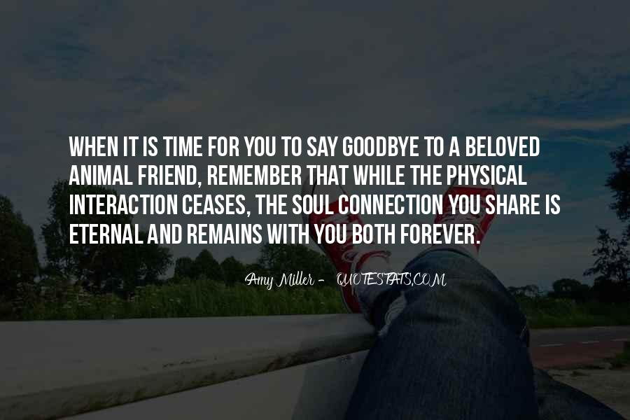 Time To Say Goodbye Love Quotes #1683579
