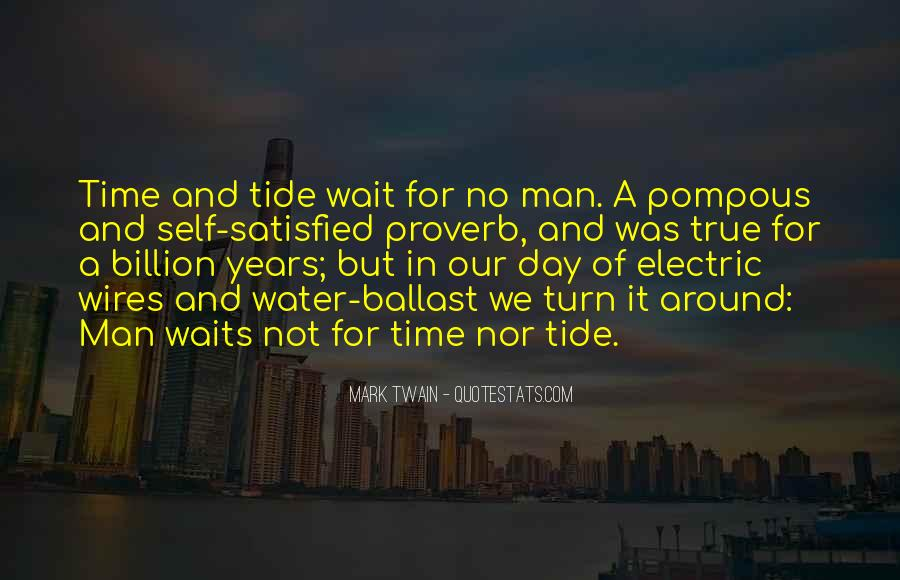 Time Waits For None Quotes #577481